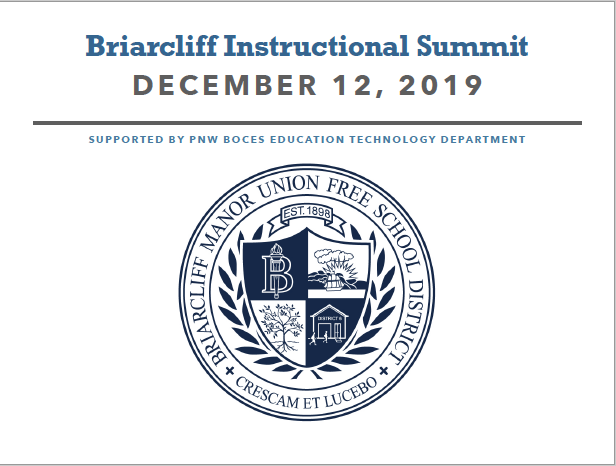 December 12th - Briarcliff Instructional Summit - Registration is Now Open