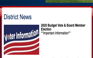 2020 Budget Vote & Board Member Election