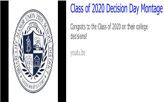 Class of 2020 Decision Day Montage