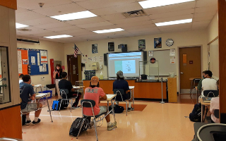 Tenth Grade Chemistry Teacher Makes COVID Safety Guidelines Work