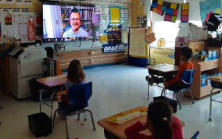 Todd's Youngest Students Get a Virtual Visit from a Famous Author