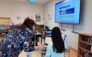 Election Day Video Project Keeps Eighth Graders Busy with Research