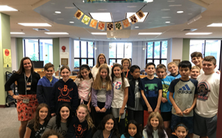 BMS Library Offerings Wow Sixth Graders