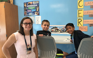 BMS Teachers and Students Reconnect and Get to Work