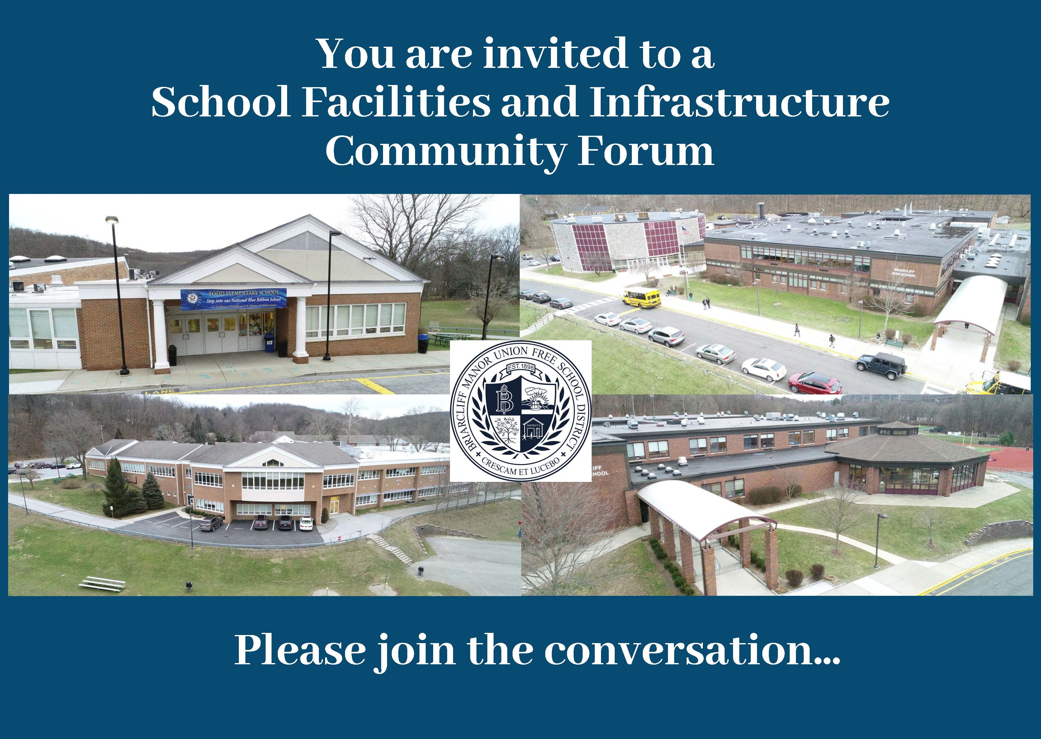 Community Forum/Roundtable Discussions Planned for February 2 and 6