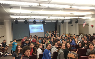 As Part of WWII Study, 8th Grade Meets the Daughter of a Holocaust Survivor