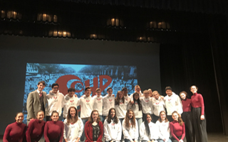 Student Coalition for Human Dignity's MLK Jr Assembly Challenges Students to Take Thoughtful Action
