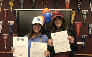 Goldstein and Lombardi Sign Letters of Intent