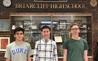 Three BHS Seniors Named National Merit Semifinalists