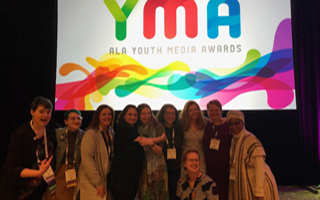 Printz Award Committee Member McCabe Attends 2019 ALA Youth Media Awards