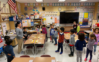 Kinesthetic Classroom Provides Action-Based Learning at Todd