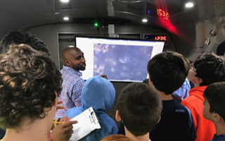 A field trip on wheels, The BioBus brings a unique experience to BMS