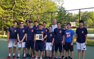 Congratulations Varsity Boys Tennis: Sectional Finalists!