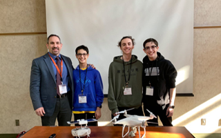 Student Tech Team Presents at the Lower Hudson Regional Information Center (LHRIC) Tech Forum