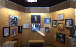 BHS Art Students Showcased in Rhoda Holzer Memorial Art Exhibition