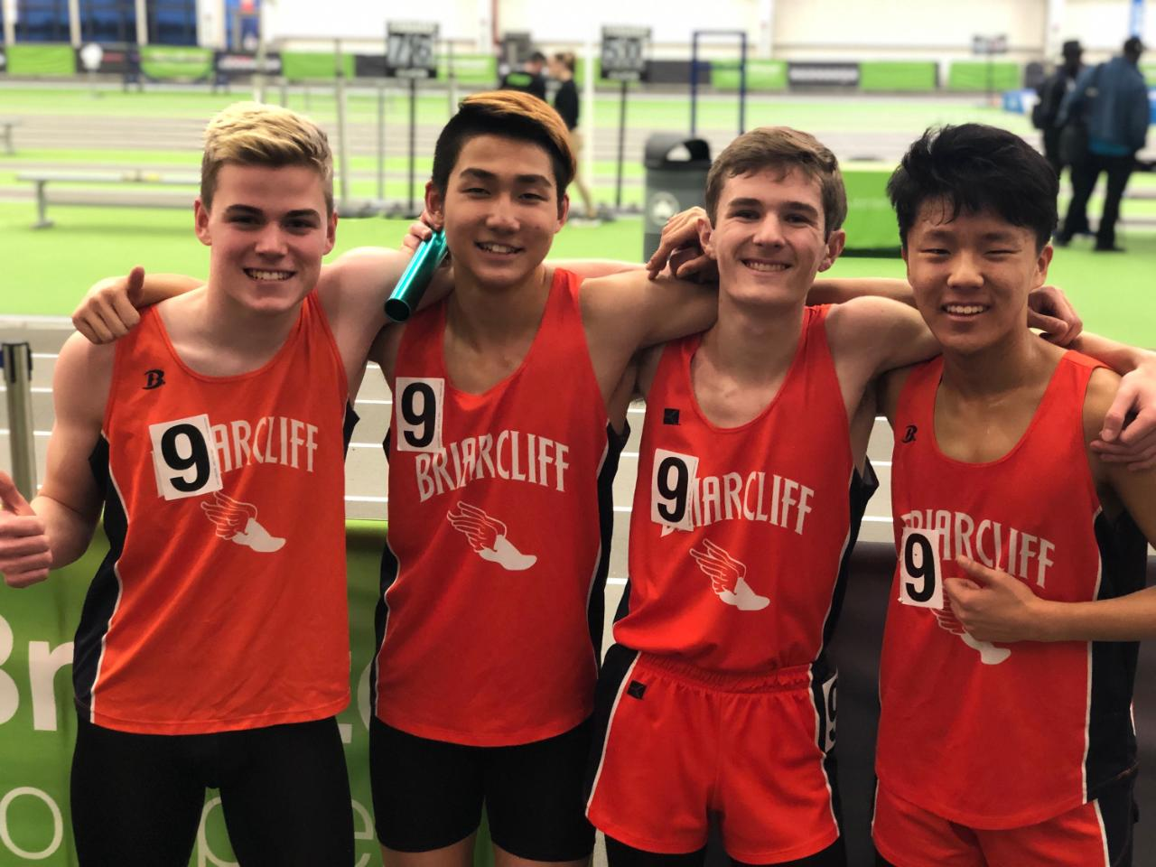 Boys Distance Medley Relay Sets School Record