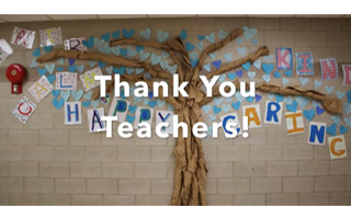 "Students Say ""THANK YOU"" with a Special Video"