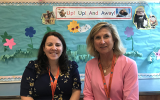 2019 Teachers of the Year Named:  Stephanie Grace and Shelley Graham