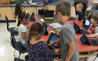Third Graders Take on Tech Leadership