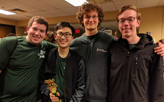 BHS Computer Programming Team Earns Gold at Siena College Contest