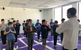 Allison Murphy's Health Class Hosts Yoga Instructors
