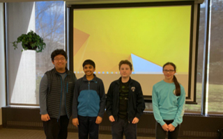 "Four BMS Students Participate in  the Chemical Education Foundation's ""You Be the Chemist"" Challenge"